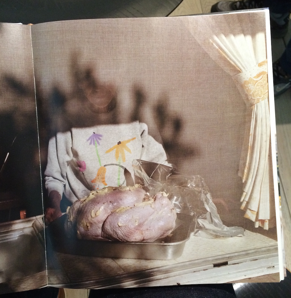 Detail of Thanksgiving, by Larry Sultan